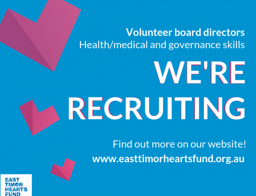 Volunteer board role – governance/health and medical skills