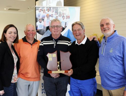Golf winners help mend hearts