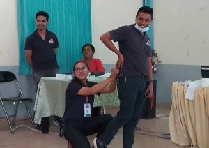 Buzzy Bee Training in Dili