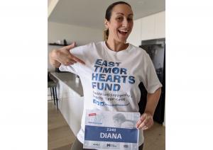 Diana for Virtual Run Melbourne
